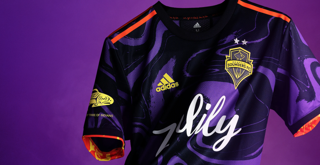 Seattle Sounders team up with Jimi Hendrix family for new psychedelic kit (PHOTOS)