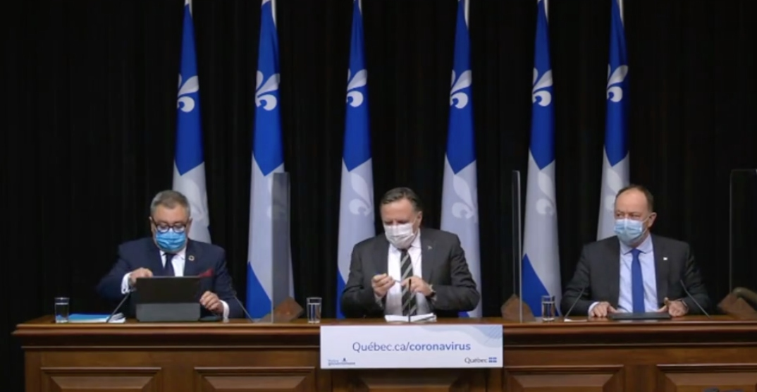 Government tightens COVID-19 restrictions across several Quebec regions