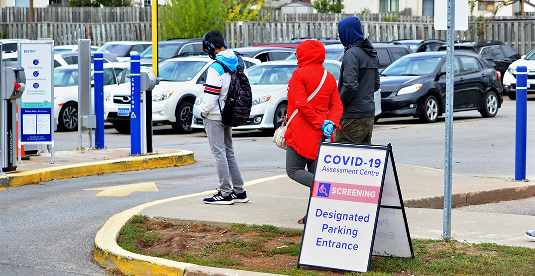 Ontario's daily COVID-19 cases hold steady with 1,100 new infections