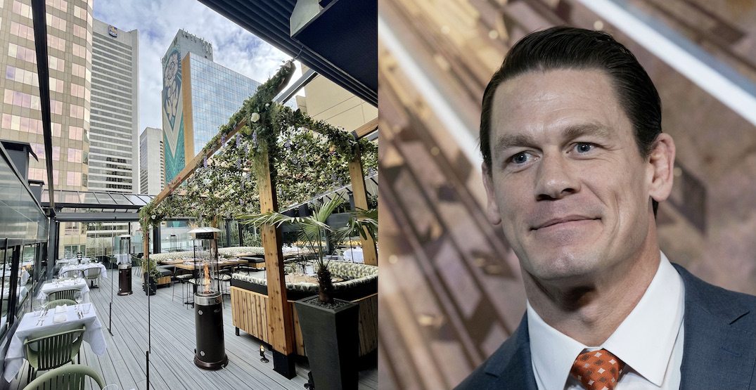 John Cena spotted enjoying downtown Vancouver's new rooftop patio