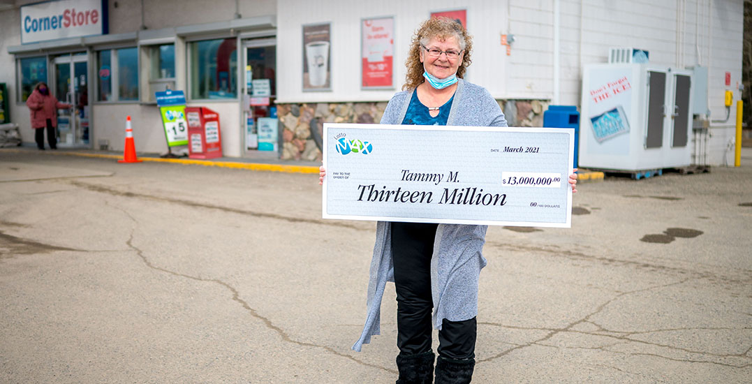 $13 million BC Lotto Max winner having winning date tattooed on her arm