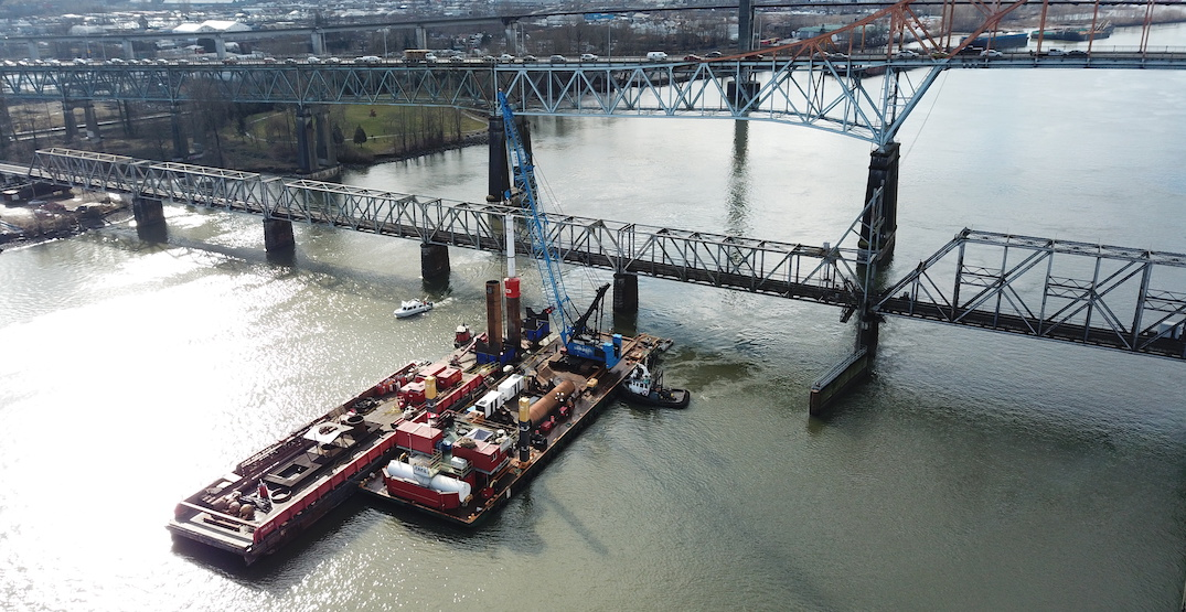 New Pattullo Bridge construction underway, but opening pushed to 2024