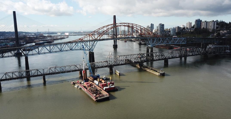 pattullo bridge construction