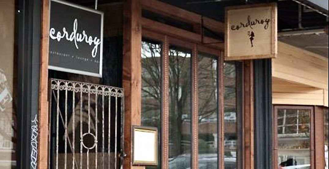 Corduroy restaurant in Vancouver planning to defy BC Vaccine Card rules