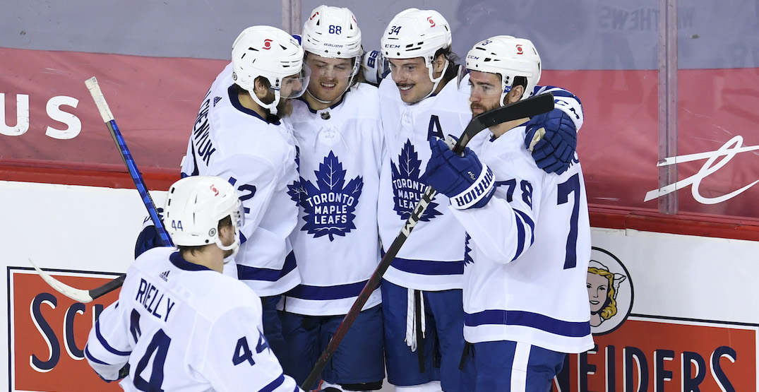 Maple Leafs on franchise-best pace after 39 games
