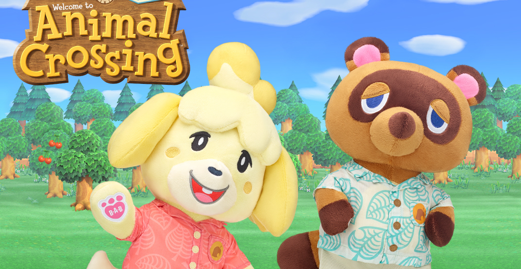 Build-A-Bear reveals characters in Animal Crossing collaboration (PHOTOS)