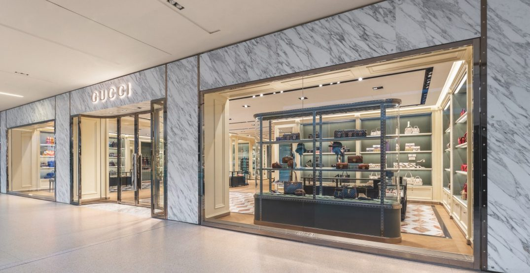 Gucci just opened its first store in Edmonton