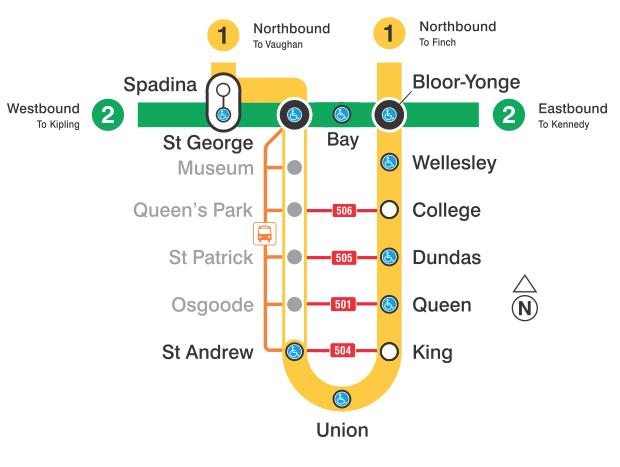 ttc subway close