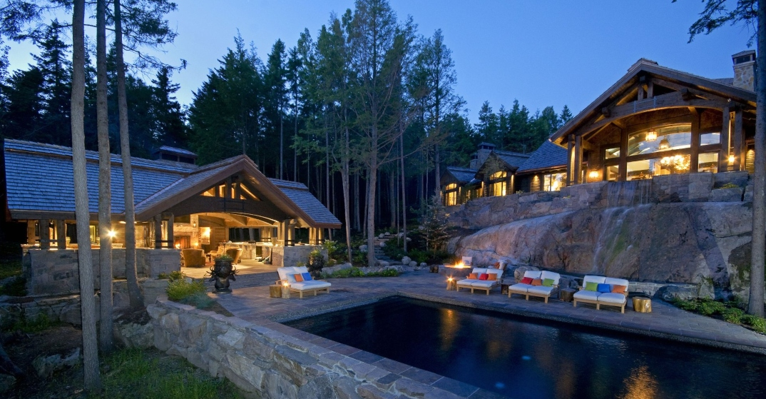 A look inside: $8.75M three-building cottage in Mont-Tremblant (PHOTOS)