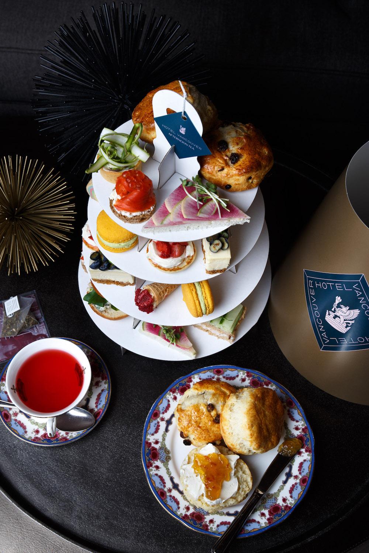 Fairmont Hotel Vancouver tea to-go