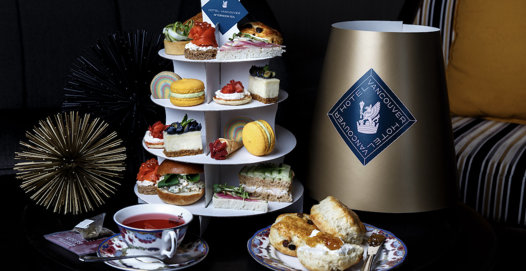 Fairmont Hotel Vancouver launches afternoon tea to-go