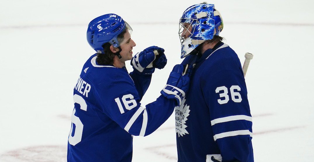 """Emotional Campbell after record win says playing for Leafs """"dream come true"""""""