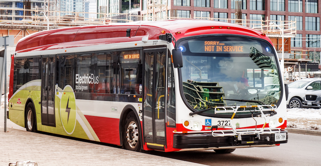 TTC looking to add 300 new electric buses to Toronto streets