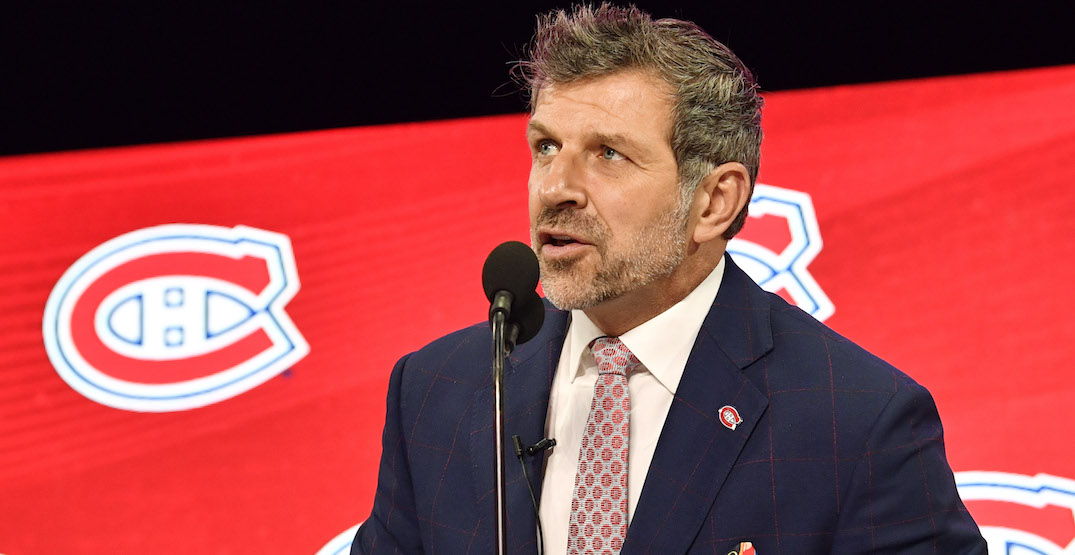 Canadiens' Bergevin among three finalists for GM of the Year
