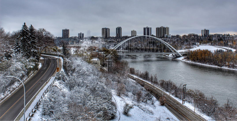 Return of winter: Edmonton expecting low temperatures and flurries