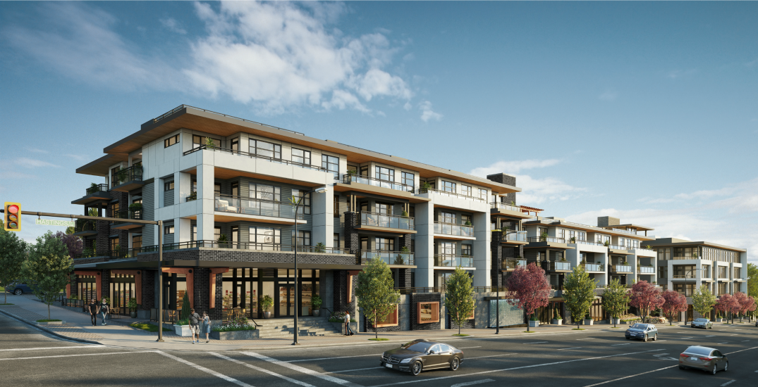 Burnaby condos with mountain views to launch this summer