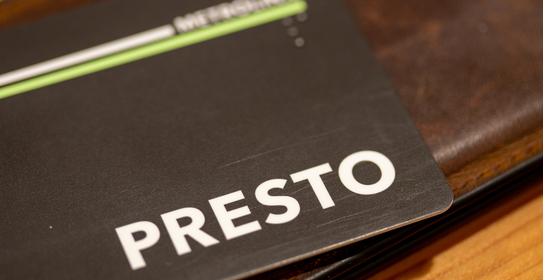 PRESTO passes harder to buy in poorest Toronto neighbourhoods
