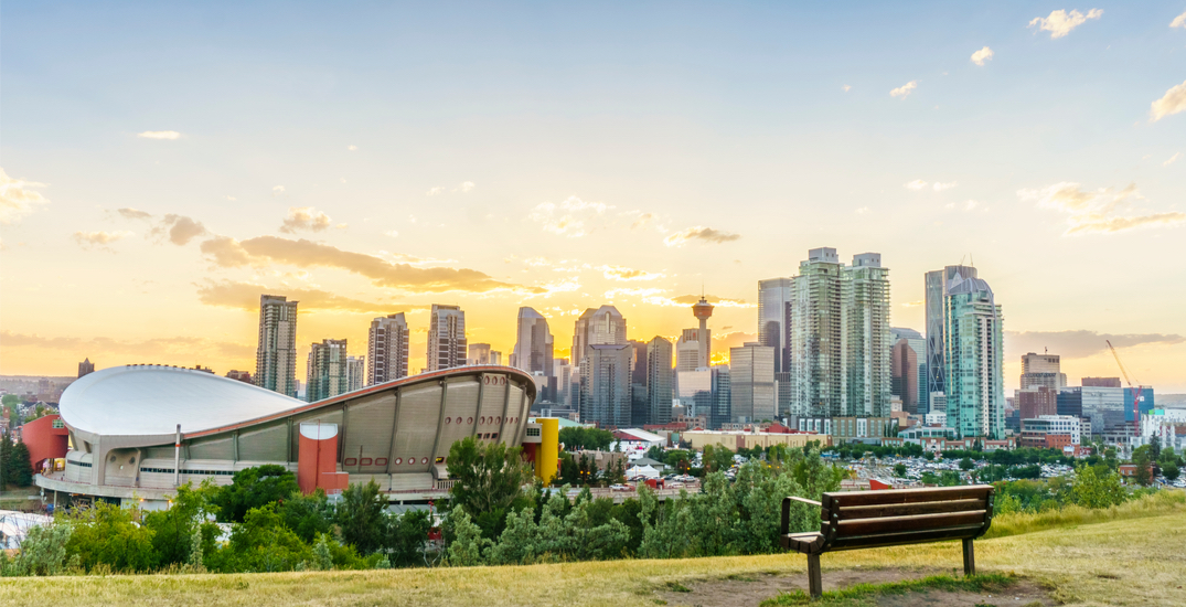 It's expected to be 18°C in Calgary this weekend