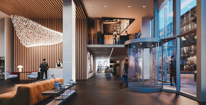New 39-storey, 193-room luxury hotel opening in Old Montreal this summer (RENDERINGS)