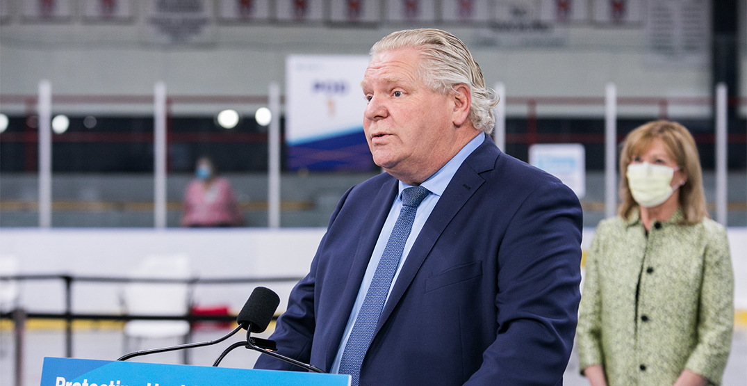 Ford to make announcement following Ontario's new COVID-19 projections