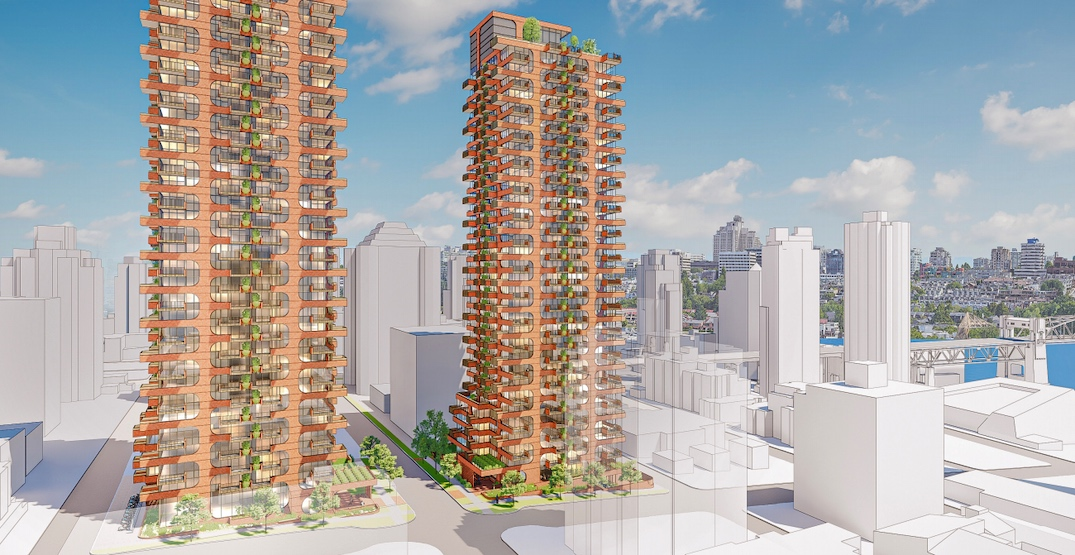 575 rental homes in twin towers proposed for West End in downtown (RENDERINGS)
