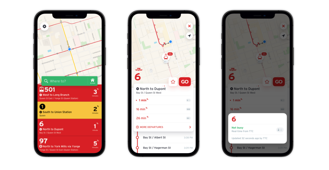 TTC is getting two real-time bus crowding apps this week