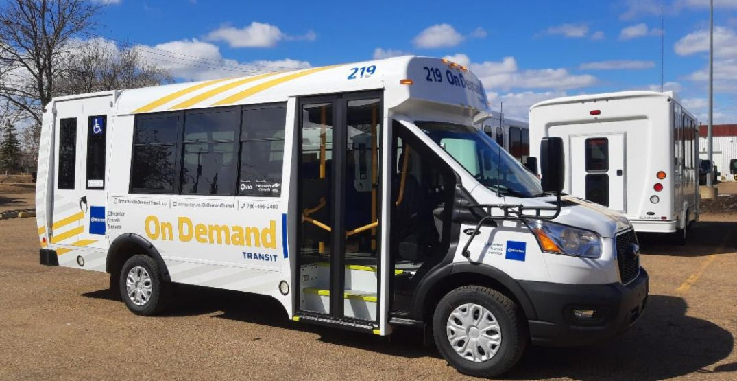 Edmonton transit users can soon book a ride right from their smartphone