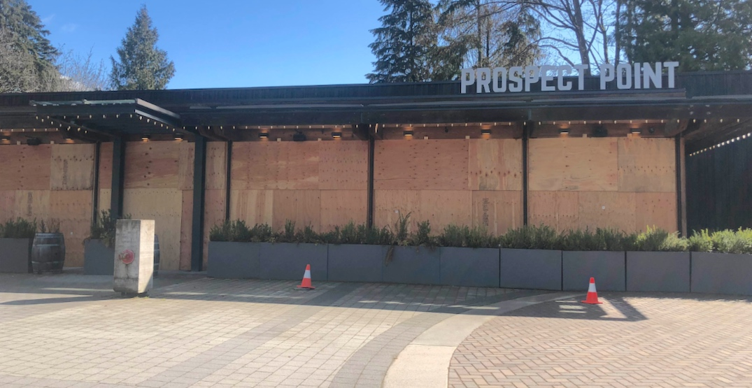 prospect point restaurant grill closed