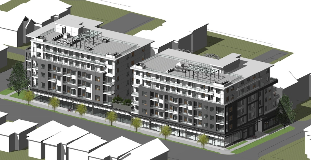 124 rental homes and retail proposed for Main Street south of Punjabi Market