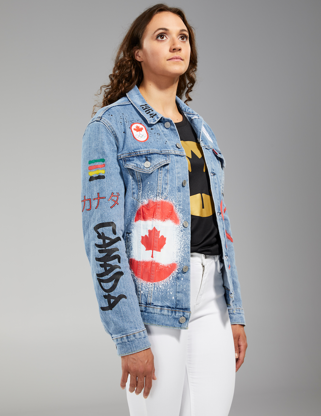 Uniforme olímpico canadiense
