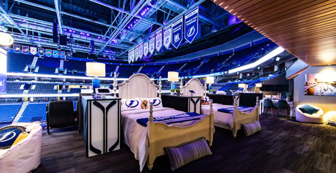 """Tampa Bay Lightning inviting fans to """"spend the night"""" with the Stanley Cup"""