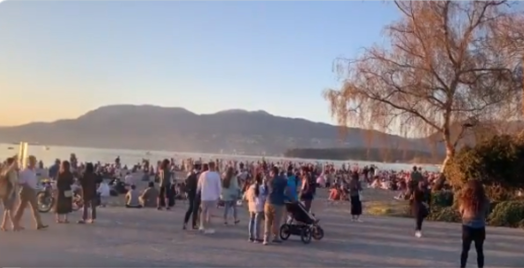 No penalties after back-to-back weekend beach parties in Vancouver