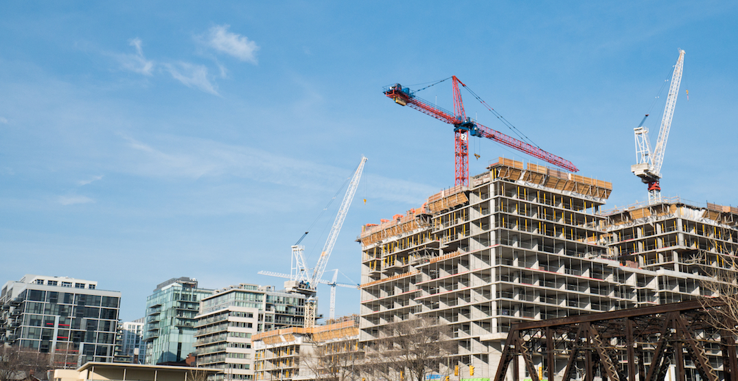 "Condo construction continues in Toronto as Ford deems it ""essential"""