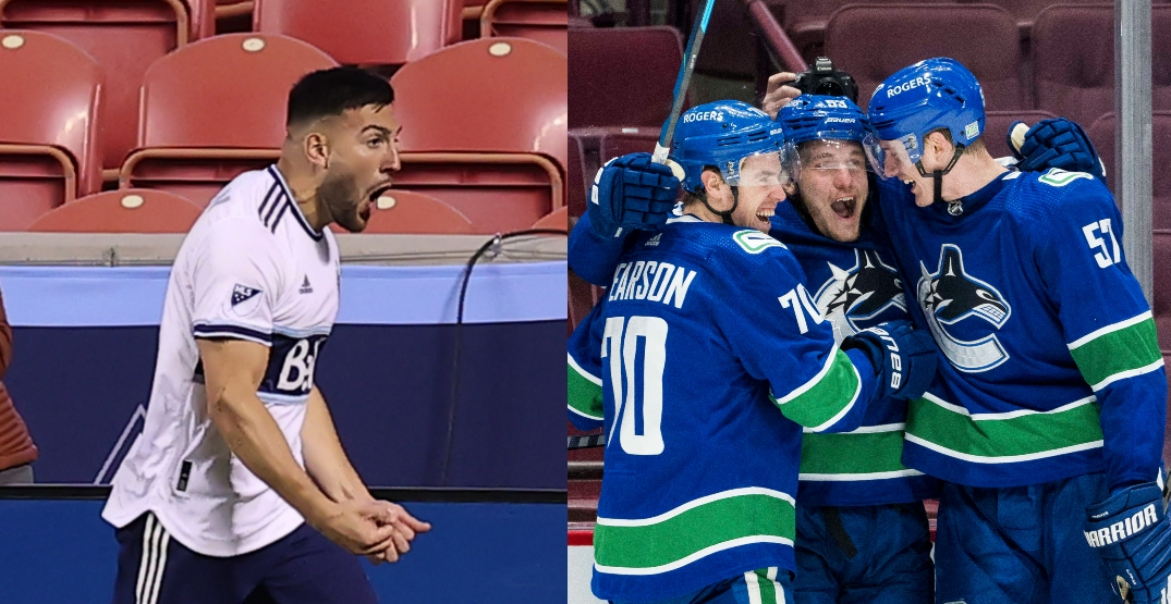 Canucks and Whitecaps win on same day for first time in over three years