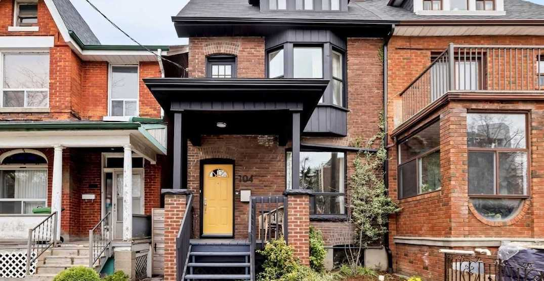 This Toronto house sold for $502,000 over asking after one day (PHOTOS)
