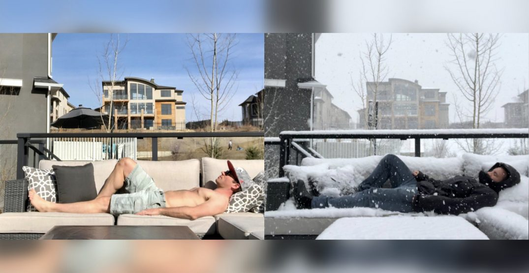 Weather whiplash: Calgary saw summer and winter in one weekend (PHOTOS)