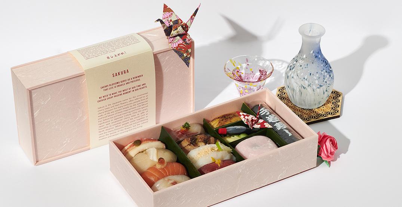 Toronto sushi spot honours Japan's cherry blossoms with Sakura-inspired boxes