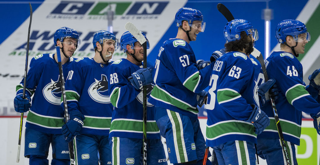 Canucks odds shoot up in playoff prediction models after wins over Leafs