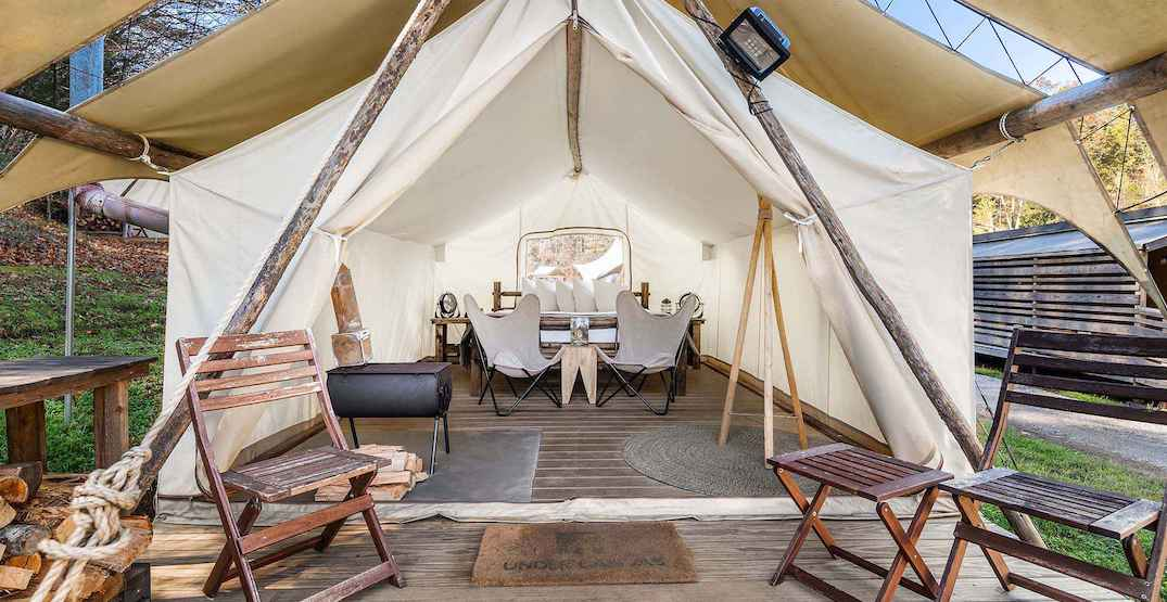 Crystal Mountain is launching a new glamping spot this summer