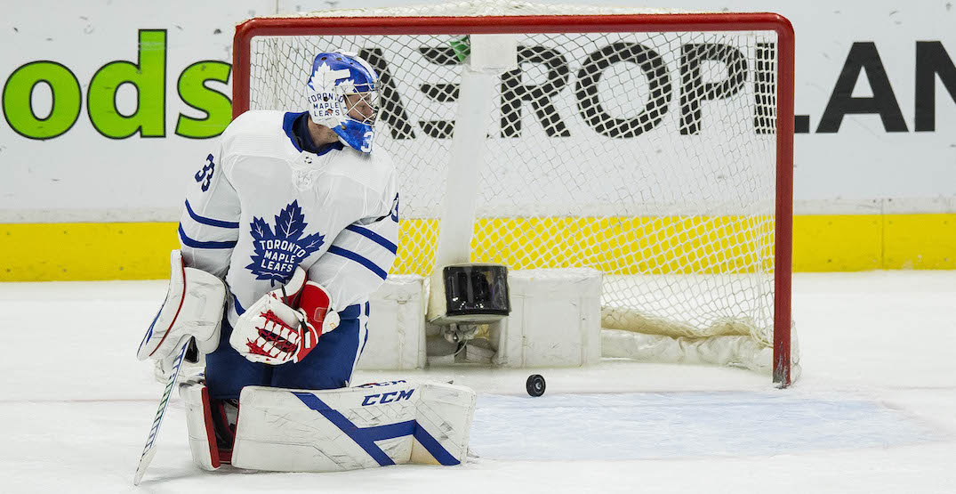 The Leafs have three worrisome options in net with playoffs looming