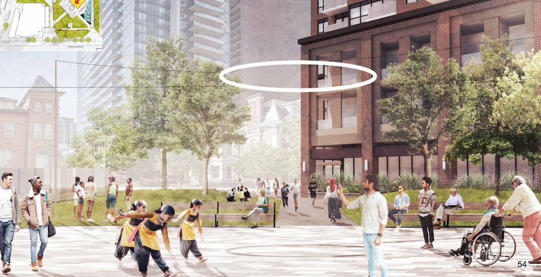 Toronto park getting full redesign that may include a floating halo light (RENDERINGS)