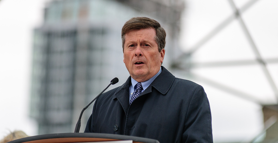 """Toronto mayor """"hopeful"""" after provincial officials hint at paid sick leave program"""