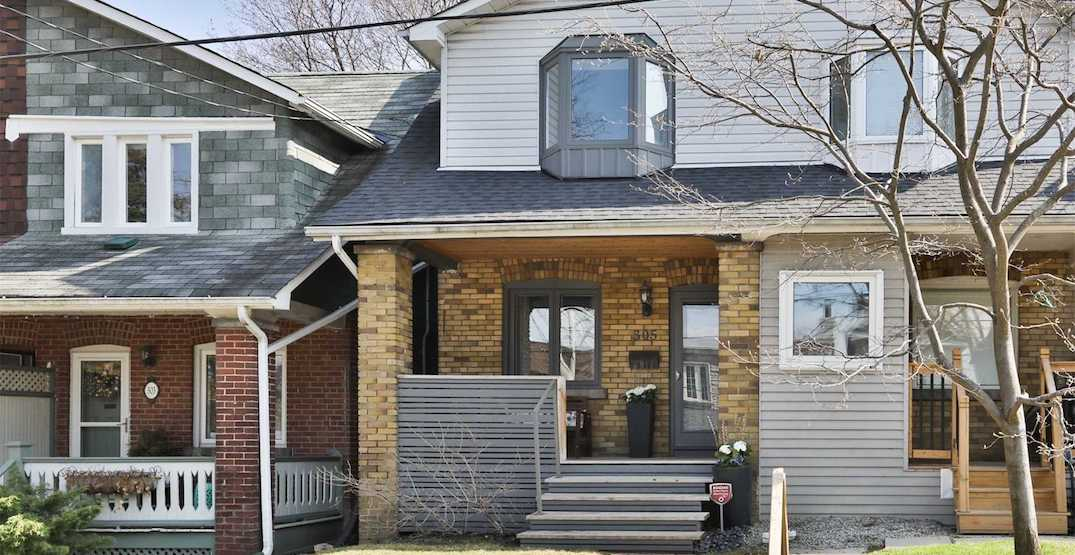 This Toronto semi-detached just sold for $436K over asking (PHOTOS)