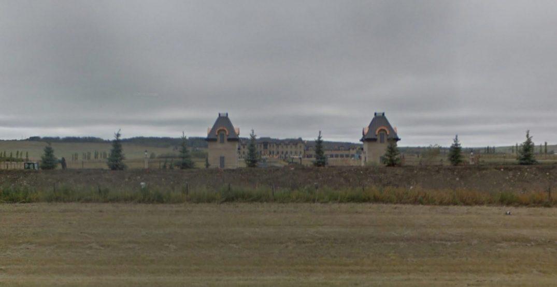 Magazine reveals secrets about mysterious mega mansion near Calgary