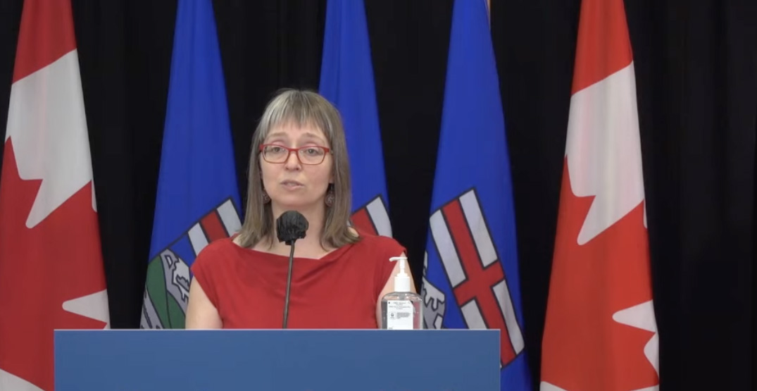 Alberta reports 518 hospitalizations as new COVID-19 cases surpass 1,800