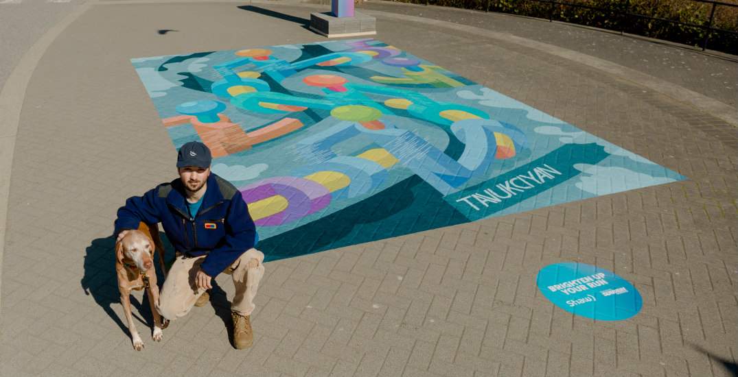 Talented local artists capture essence of the Vancouver Sun Run (PHOTOS)