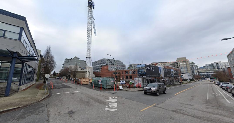 425 west 6th avenue vancouver construction december 2020