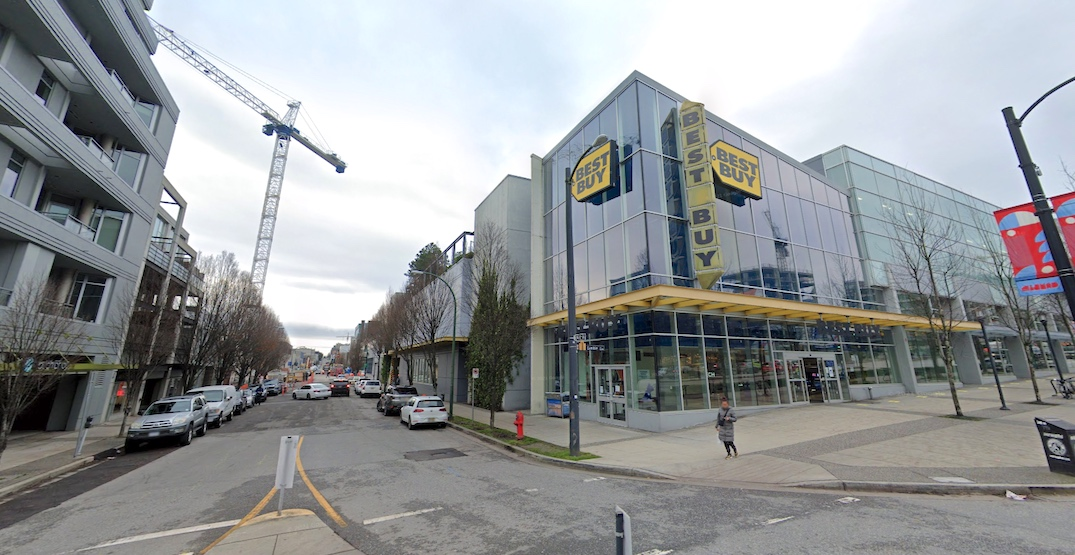 best buy 2220 Cambie Street Vancouver store