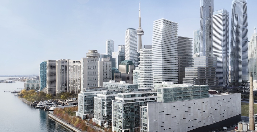 New 45-storey condo tower planned for the Toronto waterfront (RENDERINGS)