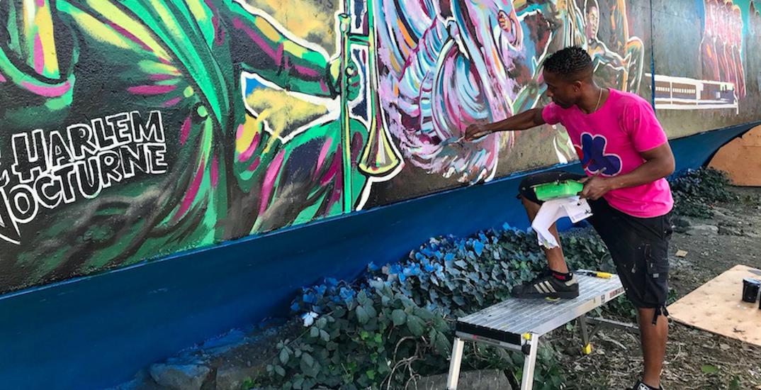 Mural honouring Vancouver's lost Black neighbourhood wins heritage award